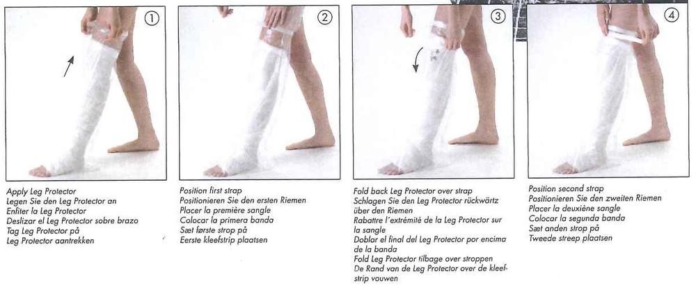 Douchehoes voor been emdacare - Hoe u stuks scheidt ...